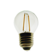 Led Filament-1.2W-100LM- G45 Finish Clear