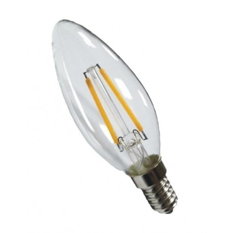 led Filament-5W-LM220- Candle -Warm white- finish clear